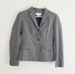 Calvin Klein Grey Blazer 2 Button Closure size 2